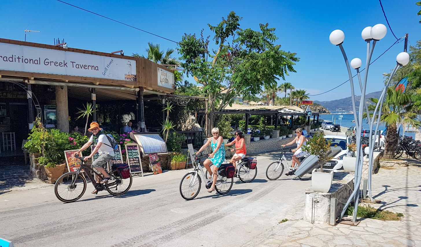 fietstocht op Zakynthos (copyright: Baja Bikes)